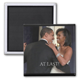 The 1st Couple , The 1st dance, AT... - Customized 2 Inch Square Magnet