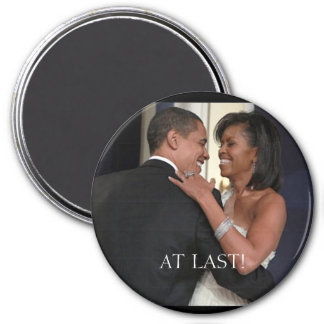 The 1st Couple , The 1st dance, AT... - Customized 3 Inch Round Magnet