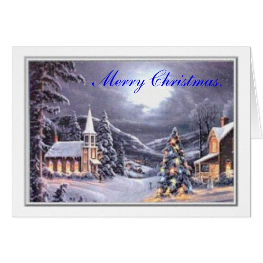 The 1st day of Christmas. Card