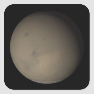 The 2001 Great Dust Storms on Mars 2 Square Sticker