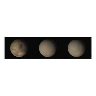 The 2001 Great Dust Storms on Mars Photo Print