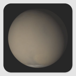 The 2001 Great Dust Storms on Mars Square Sticker