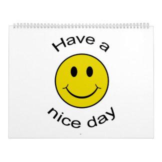 The 2012 Smiley Calendar