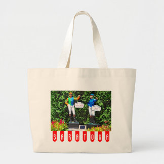 THE 2012 TRAVERS DEAD HEAT LARGE TOTE BAG