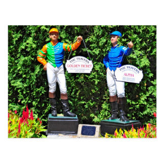 THE 2012 TRAVERS DEAD HEAT POST CARDS