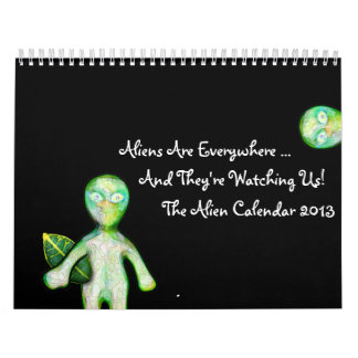 The 2013 aLiEn Calendar!