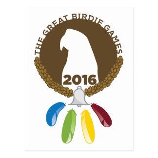 The 2016 Great Birdie Games! Postcard