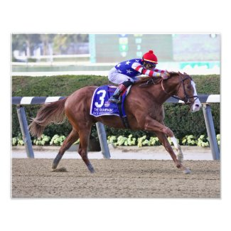 The 2021 Champagne Stakes Photo Print