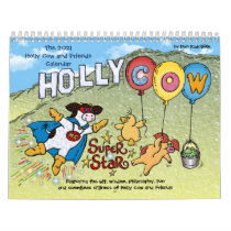 The 2021 Holly Cow and Friends Calendar