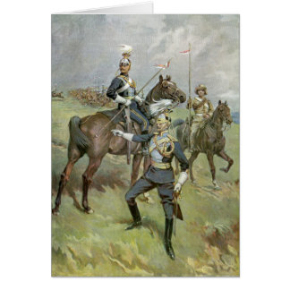 The 21st Lancers - British Army Greeting Card