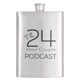The 24 Hour Couple Classic Flask