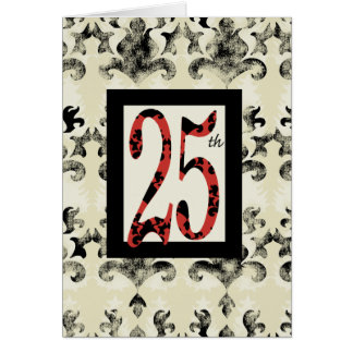 The 25 Design Greeting Card