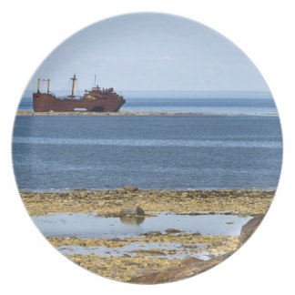 The 260 foot (80-metre) long wreck of the MV Dinner Plate