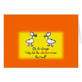 The 2 Ducks... Card