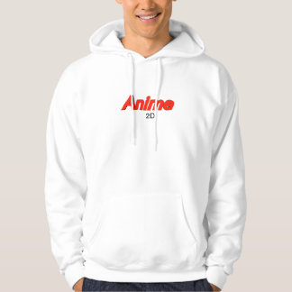 The 2D Anime experience Hoodie