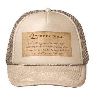 The 2nd Amendment Hats