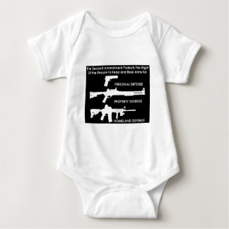 The 2nd Amendment Protects... Baby Bodysuit