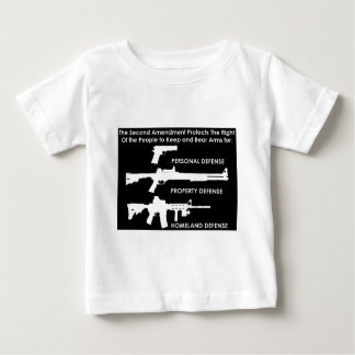 The 2nd Amendment Protects... Baby T-Shirt