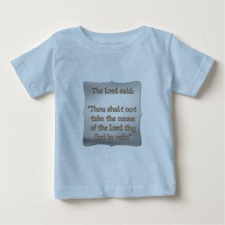 The 2nd Commandment Baby T-Shirt