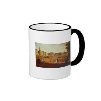 The 2nd Footguards  on Parade at Horse Guards' Ringer Coffee Mug
