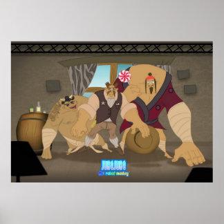 The 3 Bandito's Poster
