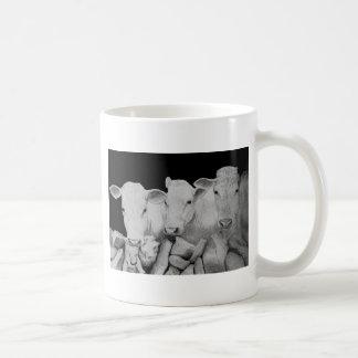 The 3 cows drawing mug