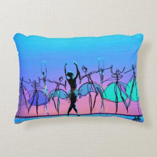 """The 3 Graces"" Ballet Themed Pillow Accent Pillow"