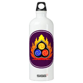 The 3 Jewels - Taoism / Tao Te Ching / Lao Tzu Aluminum Water Bottle