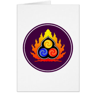 The 3 Jewels - Taoism / Tao Te Ching / Lao Tzu Card
