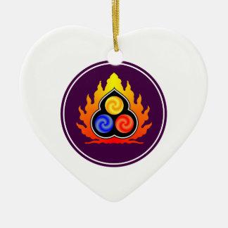 The 3 Jewels - Taoism / Tao Te Ching / Lao Tzu Ceramic Ornament