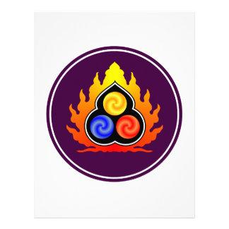 The 3 Jewels - Taoism / Tao Te Ching / Lao Tzu Letterhead