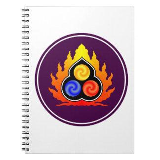 The 3 Jewels - Taoism / Tao Te Ching / Lao Tzu Notebook
