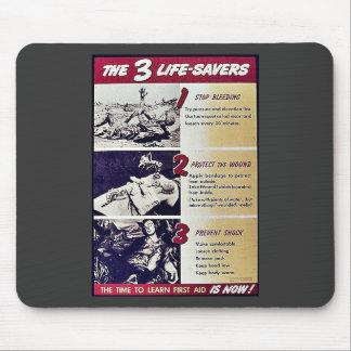 The 3 Life Savers Mouse Pad