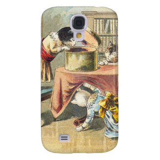 The 3 Little Kittens: Searching for the Mittens Samsung Galaxy S4 Cover