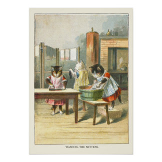 The 3 Little Kittens: Washing the Mittens Poster