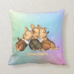 The 3 Little Pigs Dreamer American Mojo Pillow