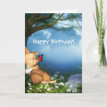 The 3 Little Pigs Dreamer Birthday Card