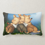 The 3 Little Pigs Dreamers American Mojo Pillow