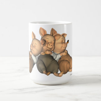 The 3 Little Pigs Dreaming Mug
