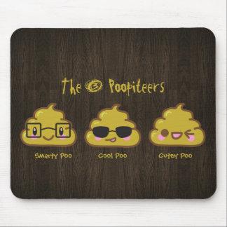 The 3 Poopiteers Mouse Pad