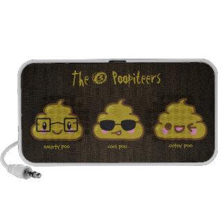 The 3 Poopiteers Travelling Speaker