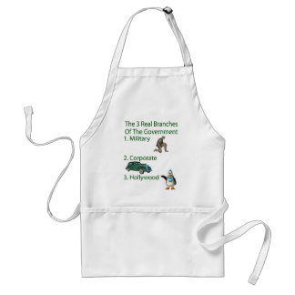 The 3 Real Branches Of The Government Adult Apron