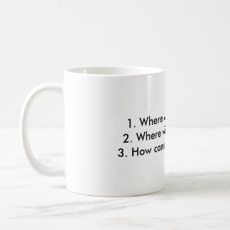 The 3 things every trader must know coffee mug