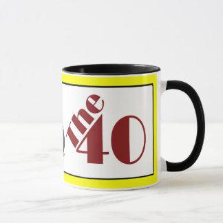 The 40 mug
