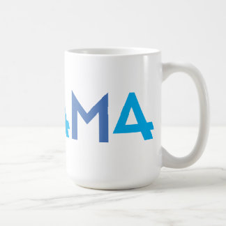 The 44th President, Barack Obama, Blue 44 Coffee Mugs