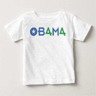 The 44th President, Barack Obama, Green 44's Baby T-Shirt