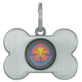 The 45-th Separate SPETSNAZ Regiment Airborne Troo Pet Name Tag