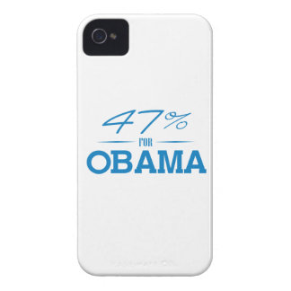 THE 47 PERCENT FOR OBAMA -.png Case-Mate iPhone 4 Case