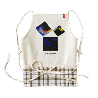 The 47th Problem of Euclid (Cosmic) Zazzle HEART Apron