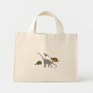 The 4 Dinos Mini Tote Bag